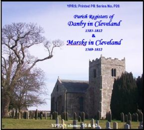 Marske in Cleveland 1569 - 1812 and Danby in Cleveland 1585 - 1812 (P.28)